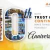 Armiti celebrates 10th Anniversary
